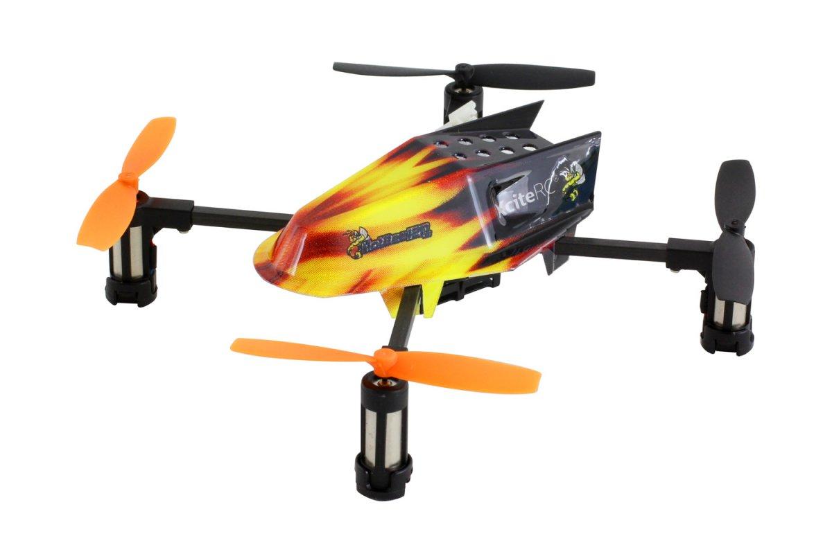 HotBee 3D - 4 Kanal ARTF Quadrocopter mit XRC 6S Sender - RC-Drohnen.de