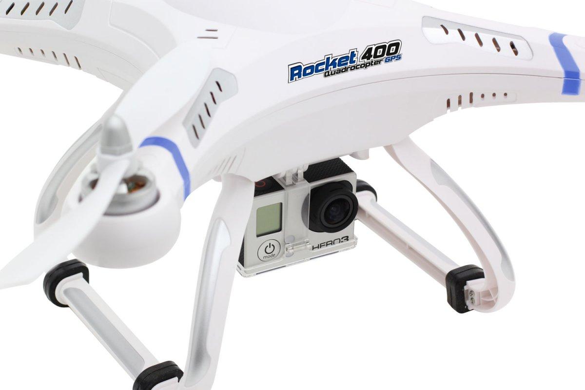 Rocket 400 GPS - RTF Quadrocopter  - RC-Drohnen.de