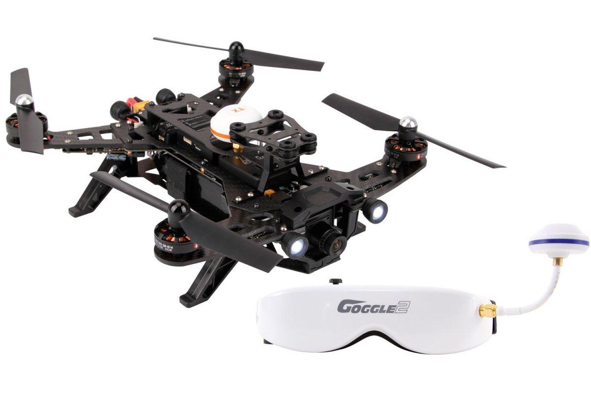 XciteRC FPV Racing-Quadrocopter Runner 250 RTF - FPV-Drohne mit HD Kamera und Videobrille - RC-Drohnen.de