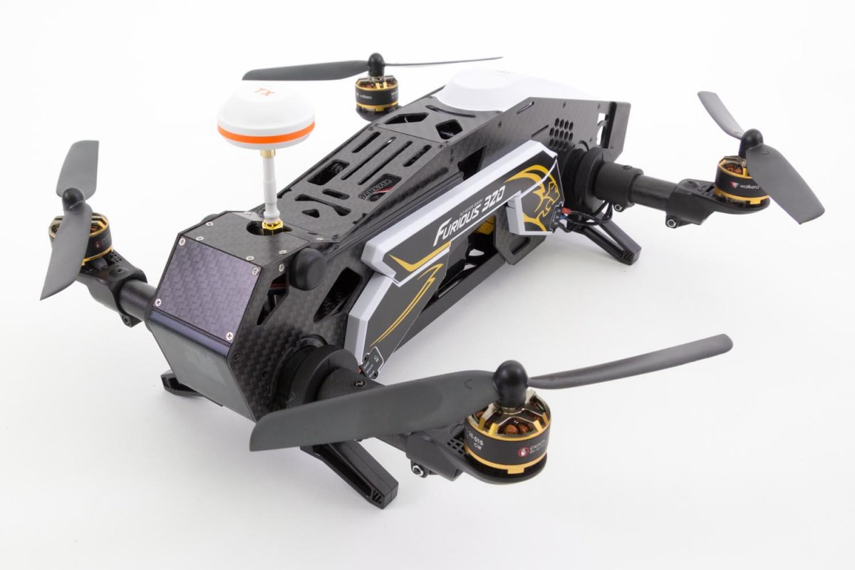 Walkera Furious 320 F3 FPV Racing-Quadrocopter RTF - RC-Drohnen.de