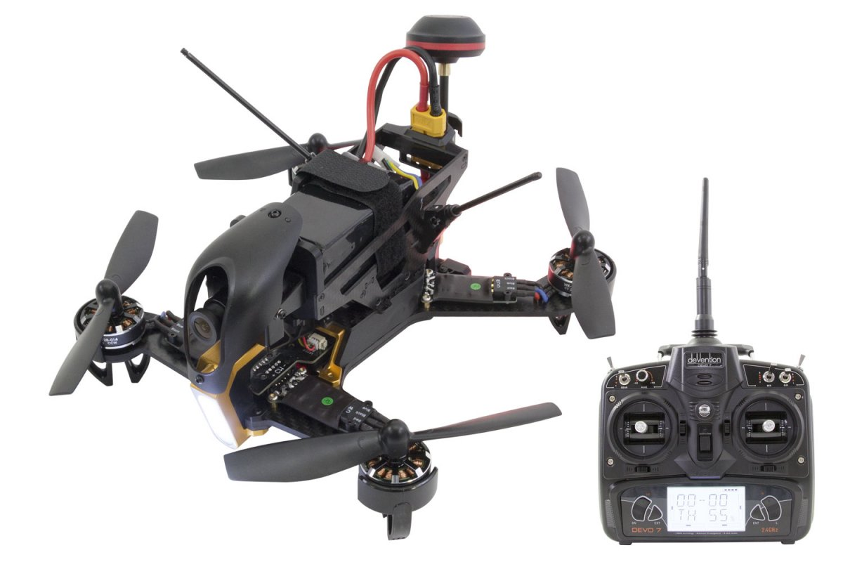 Walkera F210 RTF Racing-Quadrocopter  - RC-Drohnen.de