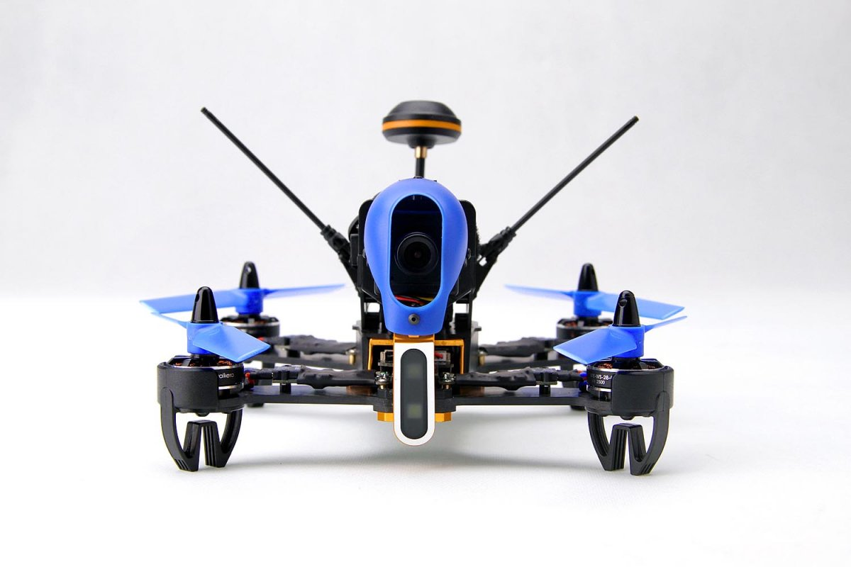 "Walkera F210 3D RTF Racing-Quadrocopter mit 5""- FPV-Monitor - RC-Drohnen.de"