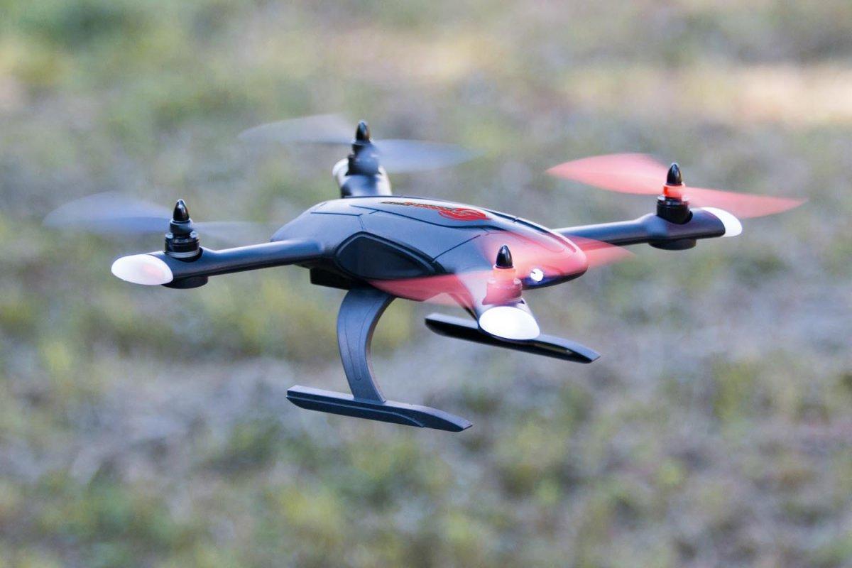 XciteRC Race-Copter Dragon 250 Ready-to-Bind Quadrocopter für XRC- oder Spektrum Sender - RC-Drohnen.de