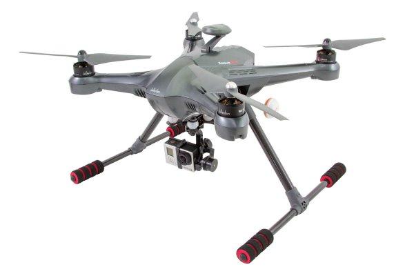 XciteRC Quadrocopter Scout X4 RTF - FPV-Drohne für GoPro Hero 3 Kamera - RC-Drohnen.de