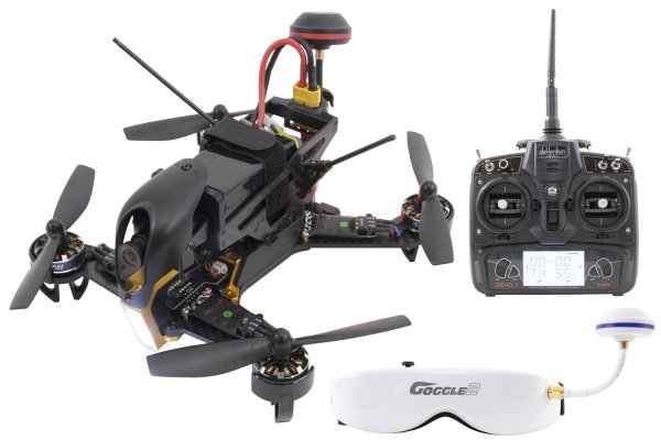 Walkera F210 RTF Racing-Quadrocopter mit Videobreille - RC-Drohnen.de